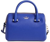 Kate Spade Cameron Street Lane Leather Satchel - Blue