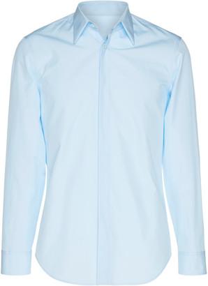 Maison Margiela Cotton-Poplin Button-Up Dress Shirt
