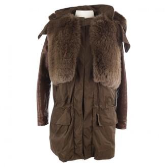 Givenchy Khaki Coat for Women