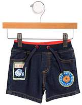 Kenzo Boys' Denim Embellished Shrots w/ Tags