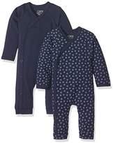 Care Baby Boys Babe1 Romper, Blue (Dark Navy)