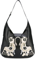 Gucci Dionysus embroidered maxi hobo bag - women - Leather - One Size