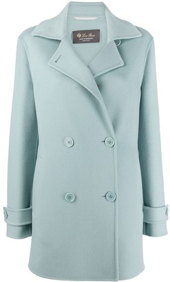 Loro Piana Long-Sleeved Double Button Coat
