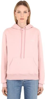Luisa Via Roma Spring Logo Cotton Sweatshirt Hoodie