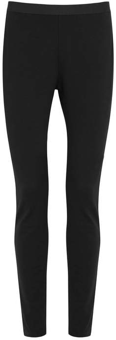 Eileen Fisher Black Skinny Ponte Jersey Leggings