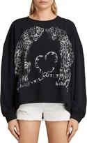 AllSaints Benin Lo Sweatshirt