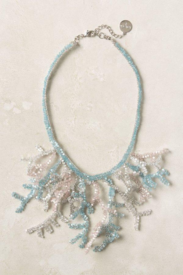 Anthropologie Prismatic Ocean Necklace