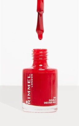 Coty Rimmel 60 Seconds Super-Shine Nail Polish Double Decker Red