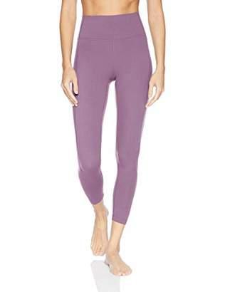 "Core 10 Amazon Brand Women's Plus Size Nearly Naked Yoga High Waist 7/8 Crop Legging-24"""