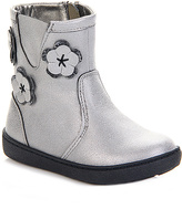 Jelly Beans Silver Flower Boot
