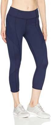 Splendid Women's Studio Activewear Workout Legging Capri Pants Bottom