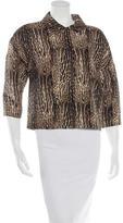 Giambattista Valli Wool Printed Jacket