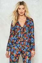 Nasty Gal Lost in the Sun Floral Top