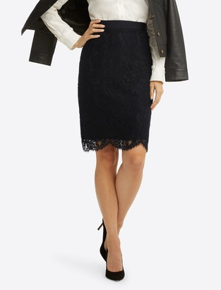Draper James Pencil Skirt in Lace