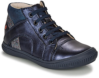 GBB ROSETTA girls's Shoes (High-top Trainers) in Blue