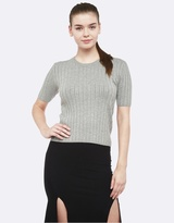 Oxford Ivy Short Sleeve Knit
