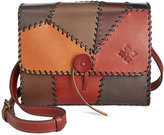 Patricia Nash Patchwork Dante Flap Shoulder Bag