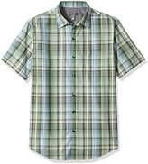 Van Heusen Men's Air Short Sleeve Yarndye Shirt