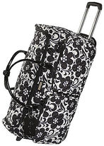 Vera Bradley Night and Day 26' Rolling Duffle by Luggage