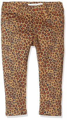 Name It Baby Girls' Nmfhthea Twiatinna AOP Legging Bn Trouser