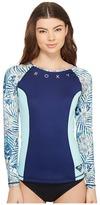 Roxy Four Shore Long Sleeve Rashguard Women's Swimwear