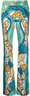 Moschino Baroque-Print Trousers