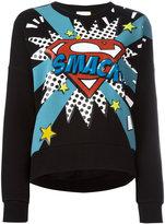 Iceberg pop art-print sweatshirt - women - Cotton/Polyester - 38