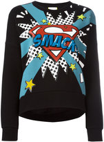 Iceberg pop art-print sweatshirt