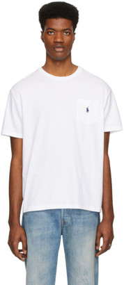 Polo Ralph Lauren White Pocket T-shirt