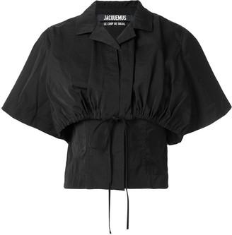 Jacquemus Layered Cropped Shirt