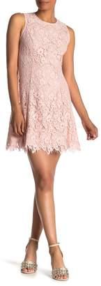 Vince Camuto Sleeveless Lace Bodycon Dress (Regular & Plus Size)