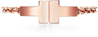 Tiffany & Co. T chain ring in 18k rose gold