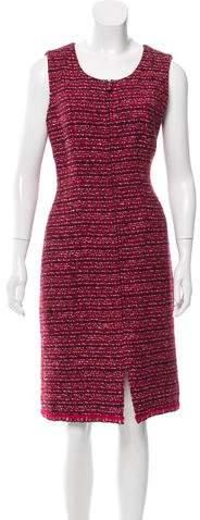 Chanel Wool Bouclé Dress