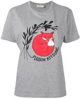 MAISON KITSUNÉ fox print T-shirt