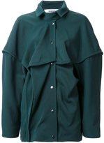 Chalayan oversized shirt jacket