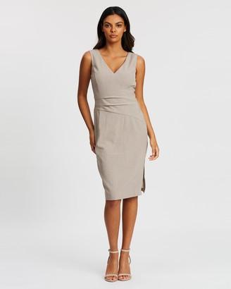 Forcast Sheila Panelled Dress