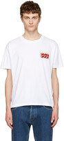 Valentino White Star Patch T-shirt