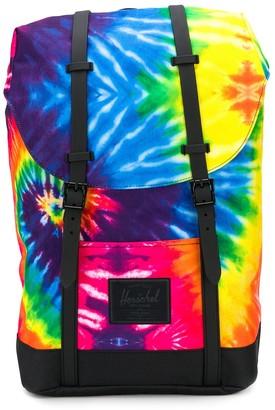Herschel Tie Dye Print Backpack