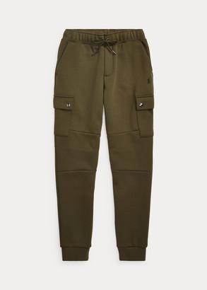 Ralph Lauren Double-Knit Cargo Jogger Pant