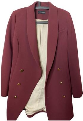 Style Stalker Red Jacket for Women