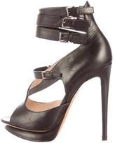 Nicholas Kirkwood Leather Platform Sandals