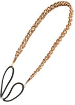 BP Faux Suede Woven Chain Headband (Juniors)