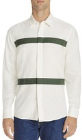 Soulland Asklund Taping Stripe Classic Fit Shirt