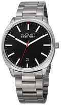 August Steiner Classic Date Display Alloy Watch, 42mm