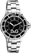 Dolce & Gabbana Men's NEW ANCHOR GENT DW0581 Silver Stainless-Steel Quartz Watch with Dial
