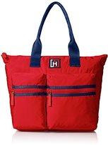 Tommy Hilfiger Nylon Tote Shoulder Bag