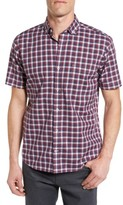 Maker & Company Men's Tailored Fit Plaid Sport Shirt