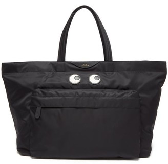 Anya Hindmarch Eyes Large Tote Bag - Black