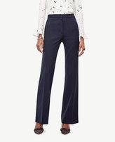 Ann Taylor Petite High Waist Flare Trousers