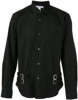 Comme des Garcons buckle detail long sleeve shirt